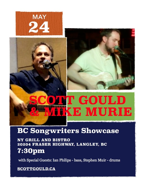 BC Songwriters Poster